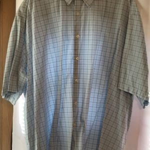 Men's 4XL 20-20 1/2 casual shirt